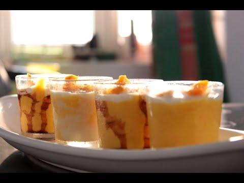 Mango mousse/Mango dessert/3 ingredient mango mousse