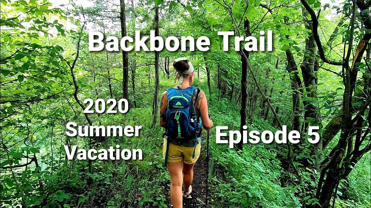 Backbone Trail Echo Valley/ Mushrooms/ Campfire Steak / Episode 5 #hiking #campfirecooking