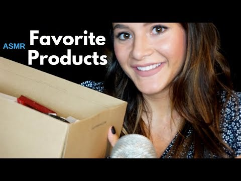 ASMR My Favorite/Go-to Makeup Products