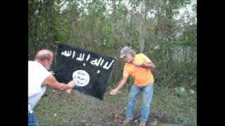 1st ONLINE entrant of ISIS flag burning contest.