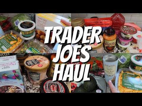 TRADER JOES HAUL   DOUBLE DOSE OF DESSERTS