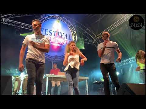 "Salsa Dance / Show ""Ran Kan Kan"" au Festival Andalucia à Oupeye (2019)"