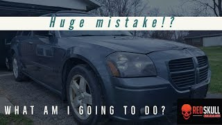 I made a mistake buying a Copart Dodge Magnum