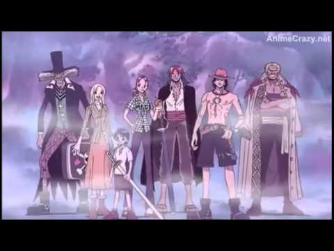 One Piece Moment The strawhat pirates saw their love ones