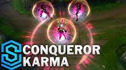 Conqueror Karma Skin Spotlight - League of Legends