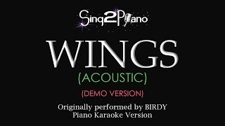 Download Wings (Piano karaoke demo) Birdy MP3 song and Music Video