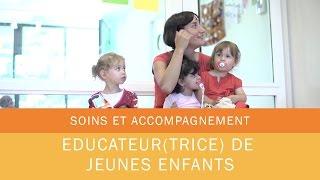 Educatrice de jeunes enfants - Les Métiers de la Mutualité - Le film