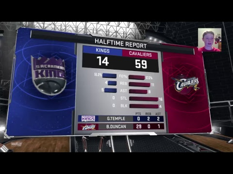 99 Overall team of centers (with injured Kyle korver) against the worst team in the NBA