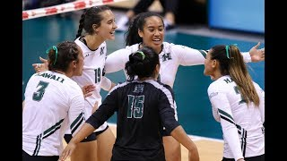 Rainbow Wahine Volleyball 2017 - Hawaii Vs UC Irvine