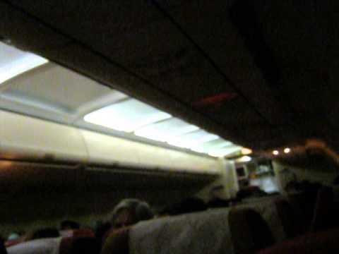 INTERIOR OF AIR INDIA AIRBUS A320