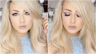 Romantic Rose Gold Prom / Debs Makeup Tutorial | 100% Drugstore Naked 3 Dupe