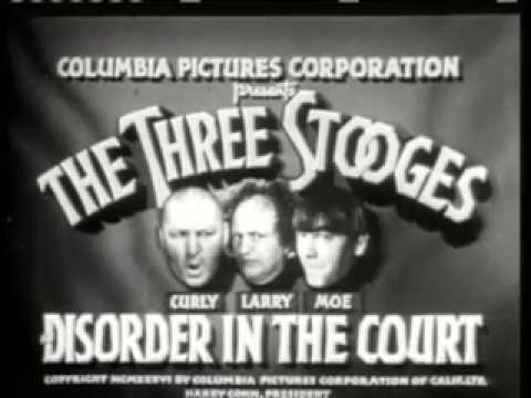 The Three Stooges Disorder in the Court full classic Tv Show