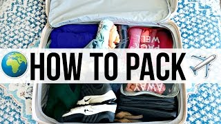 How To Pack Smąrt | Traveling Advice!