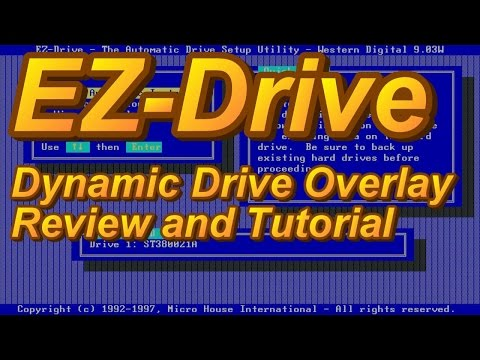 EZ-Drive Dynamic Drive Overlay Review and Tutorial