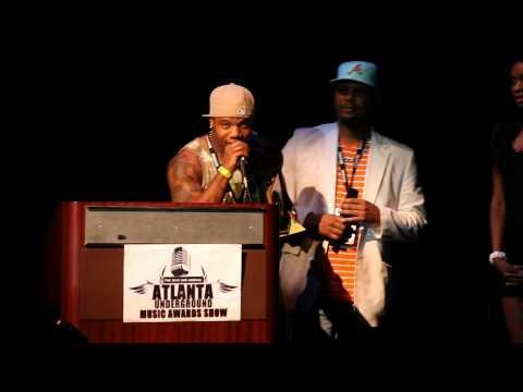 Miss Mulatto at the AUMA Awards (Atlanta Underground Music Awards)