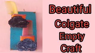 Best Out Of Waste Colgate Box Craft Idea | Colgate Box Re-use | Toothpaste Box | Project Craft Idea