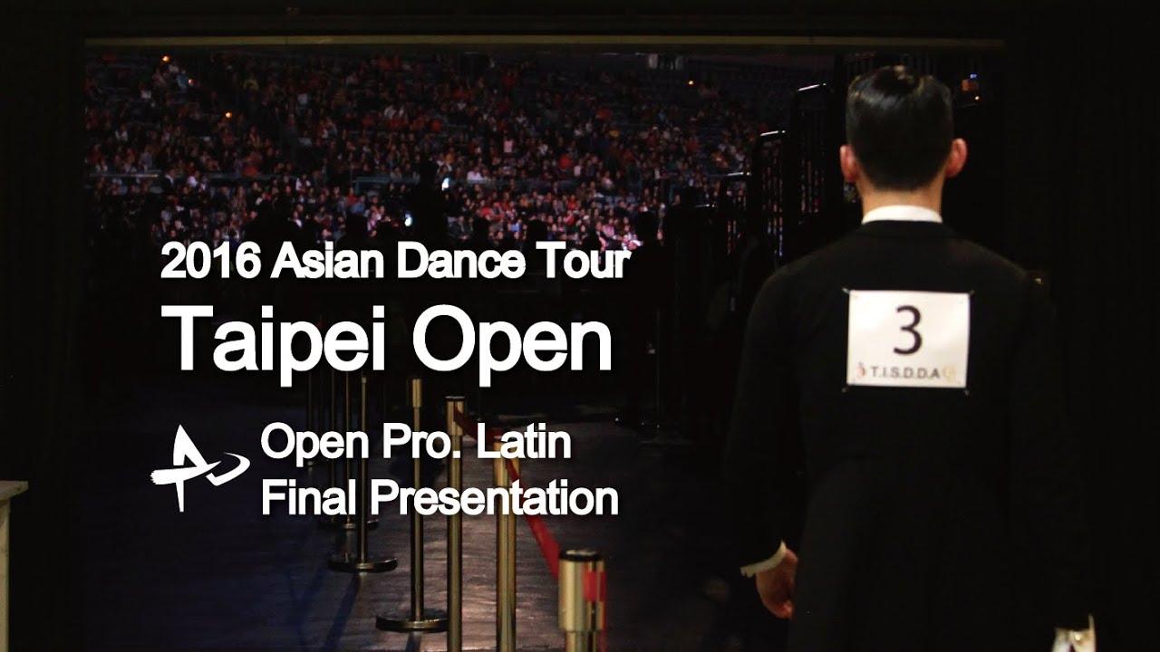 世界職業拉丁決賽Solo介紹 Pro. Latin - Final Presentation / 2016 國標舞亞巡賽台北站 Asian Dance Tour Taipei Open