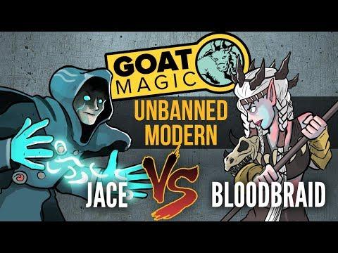 GOAT Magic: Unbanned Modern - Jace vs. Bloodbraid