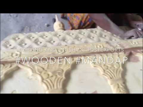 #wooden #mandap #handcarved #dstexports #manufacturer #wedding #stage #woodenmandap