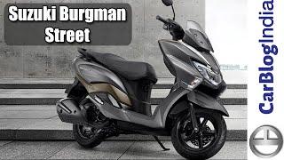 Suzuki Burgman Street 125 Walk Around Review