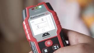 Детектор металла и проводки ADA Wall Scanner 80