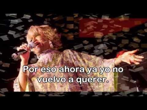Karaoke ''Usted Abuso''  Celia Cruz
