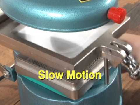 How To Vacuform Small Parts with Micro-Mark #85756 Vacuum Forming Machine