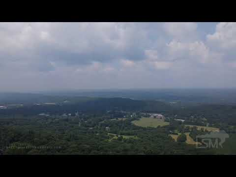 07-24-2021 Valley Head, AL - California Wildfire Smoke-Haze affecting visibility well into Alabama (