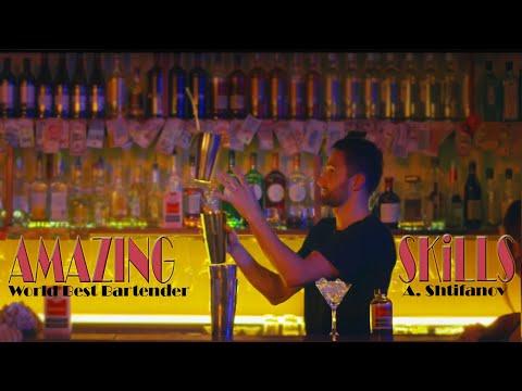 Amazing Bartender Skills Alexander Shtifanov