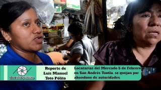 Locatarios Mercado 5 de Febrero