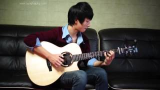 Maroon 5) She Will Be Loved   Sungha Jung Acoustic Tabs Guitar Pro 6