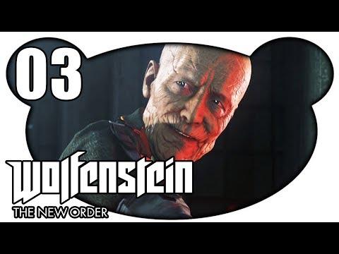 WOLFENSTEIN THE NEW ORDER #03 - Der Teufel in Menschengestalt (Let's Play Gameplay Deutsch)