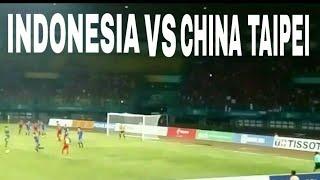 Download Video Cuplikan Suasana Langsung Dari Stadion Hasil Pertandingan Indonesia Vs Chinese Taipei MP3 3GP MP4