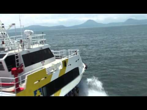 Petrobras P2  – 36m Fast Supply Vessel Launching (Brazil)
