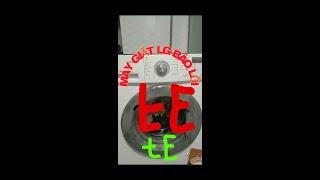 Máy giặt LG bật nguồn là báo lỗi trực tiếp