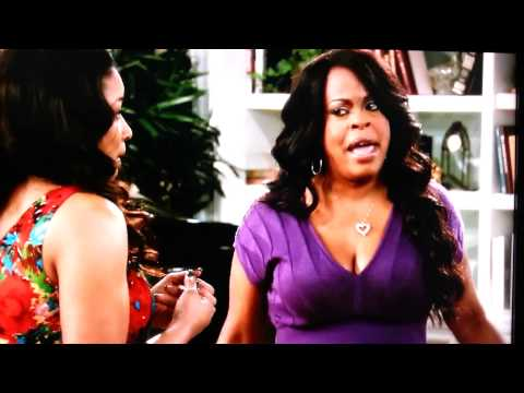 Niecy nash locks lips with tamala jones