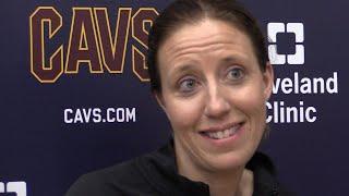 Cavs' Lindsay Gottlieb: 'This is basketball heaven'
