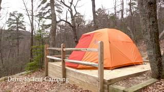Where to Go Camṗing in NC State Parks?