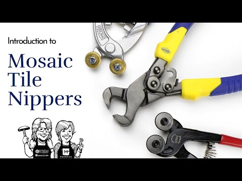 Introduction to Hand Tools Used for Mosaic Making Video