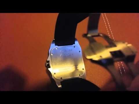 Cartier Santos 100 XL Watch - brand new look at an original