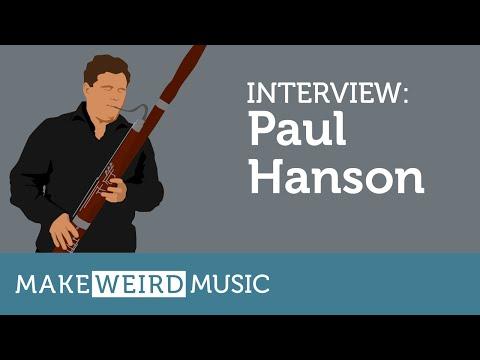 Interview: Paul Hanson - Make Weird Music