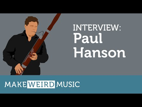 Interview: Paul Hanson - Make Weird Music