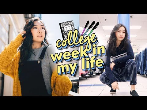 College Week In My Life + Meeting ZENDAYA | JENerationDIY