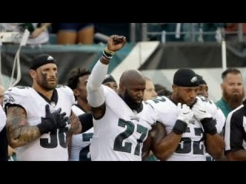 Eagles players' national anthem protest actually a demonstration of unity?