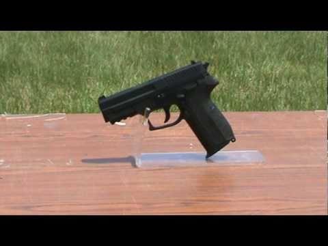 Sig Sauer SP2022 .177 cal. C02 Powered Air Gun.mpg - YouTube