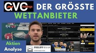 GVC Holdings (BWIN) Dividendenaktie - der grösste Sportwetten und Onlinecasinoanbieter der Welt