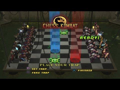 Mortal Kombat : Deception - Chess Kombat Playthrough (PS2)