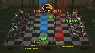Mortal Kombat : Deception - Chess Kombat Playthrough (PS2)