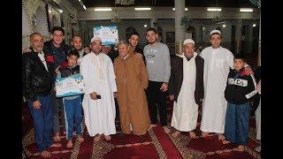حفل تكريمات لحفظة القرآن الكريم في مسجد الفتح