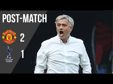 Jose mourinho delighted to reach fa cup final after manchester united beat spurs at wembley